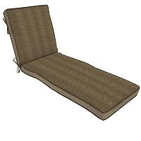 Bombay® Outdoors Zebra Pattern Reversible Chaise Cushion