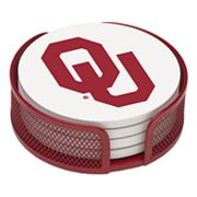 Thirstystone University of Oklahoma Coaster Set