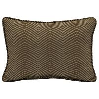 Bombay® Outdoors Zebra Pattern 2 pc Reversible Oversize Oblong Throw Pillow Set