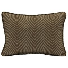 Bombay® Outdoors Zebra Pattern 2-piece Reversible Oversize Oblong Throw Pillow Set