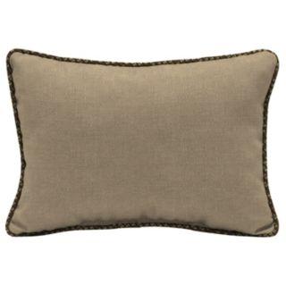 Bombay® Outdoors Zebra Pattern 2-piece Reversible Oversize Oblong Throw Pillow Set