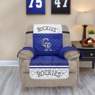 Colorado Rockies Quilted Recliner Chair Cover