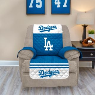 Los Angeles Dodgers Quilted Recliner Chair Cover