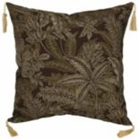 Bombay® Outdoors Palmetto Floral 2-piece Reversible Throw Pillow Set