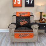 Baltimore Orioles Quilted Recliner Chair Cover