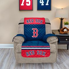 Boston Red Sox Quilted Recliner Chair Cover