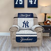 New York Yankees Quilted Recliner Chair Cover