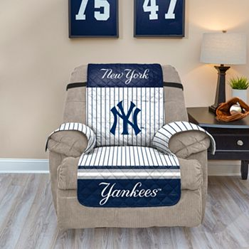 Tremendous New York Yankees Quilted Recliner Chair Cover Unemploymentrelief Wooden Chair Designs For Living Room Unemploymentrelieforg