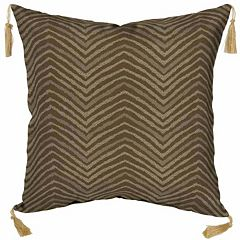 Bombay® Outdoors Zebra Pattern 2-piece Reversible Throw Pillow Set
