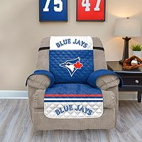 Toronto Blue Jays Quilted Recliner Chair Cover