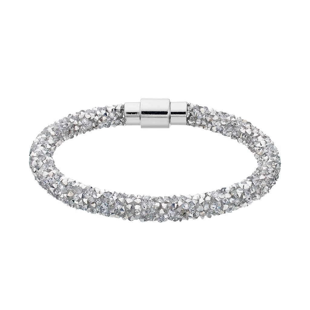 Simply Vera Vera Wang Faceted Stone Bracelet