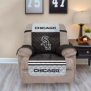 Chicago White Sox Quilted Recliner Chair Cover