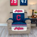 Cleveland Indians Quilted Recliner Chair Cover