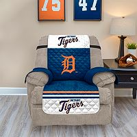 Detroit Tigers Quilted Recliner Chair Cover