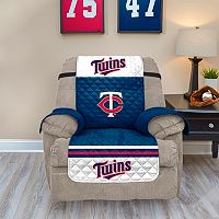 Minnesota Twins Quilted Recliner Chair Cover