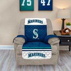 Seattle Mariners Quilted Recliner Chair Cover