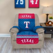 Texas Rangers Quilted Recliner Chair Cover