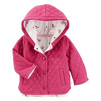 Baby Girl OshKosh B'gosh® Quilted Floral-Lined Jacket