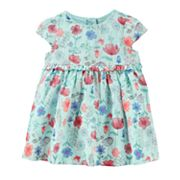 Baby Girl OshKosh B'gosh® Empire Waist Floral Dress
