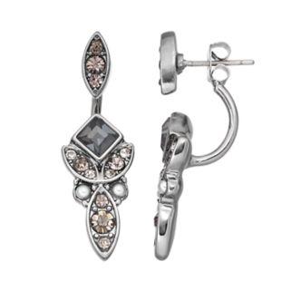 Simply Vera Vera Wang Marquise Nickel Free Front Back Earrings