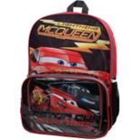 Disney / Pixar Cars Lightning McQueen Backpack & Lunch Bag Set
