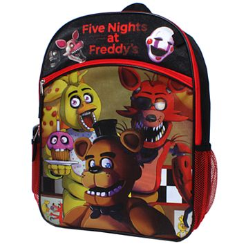 Five Nights at Freddy's Chica, Foxy & Freddy 5-pc. Backpack Set