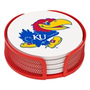 Thirstystone University of Kansas Coaster Set
