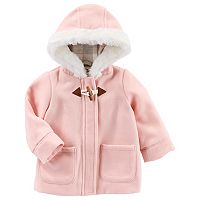 Baby Girl OshKosh B'gosh® Flannel-Lined Jacket