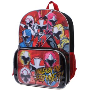 Power Rangers Backpack & Lunch Tote Set