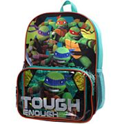 Kids Teenage Mutant Ninja Turtles Raphael, Michelangelo, Leonardo & Donatello 'Tough Enough' Backpack & Lunch Box Set