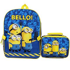 Despicable Me Minions 'Bello!' Backpack & Lunch Tote Set