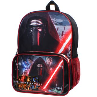 Star Wars: Episode VII The Force Awakens Backpack & Lunch Bag Set
