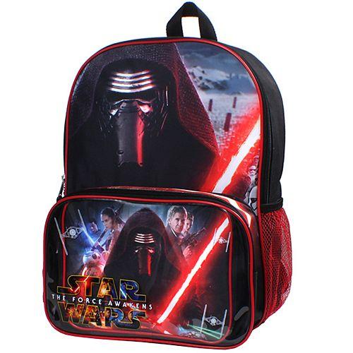Star Wars: Episode VII The Force Awakens Backpack & Lunch Bag Set