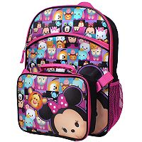 Disney's Tsum Tsum Backpack & Lunch Tote Set