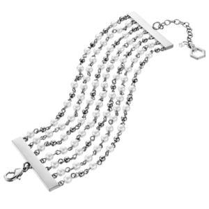 Simply Vera Vera Wang Simulated Pearl Multi Strand Bracelet