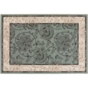 Surya Aoraki Framed Floral Indoor Outdoor Rug