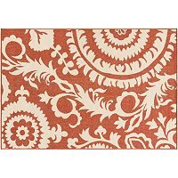 Surya Big Pine Floral Indoor Outdoor Rug