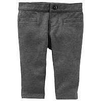 Baby Girl OshKosh B'gosh® Pull-On Ponte Pants