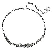 Simply Vera Vera Wang Chain Wrapped Beaded Choker Necklace