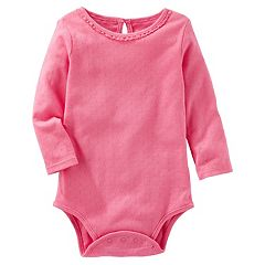 Baby Girl OshKosh B'gosh® Pointelle Bodysuit