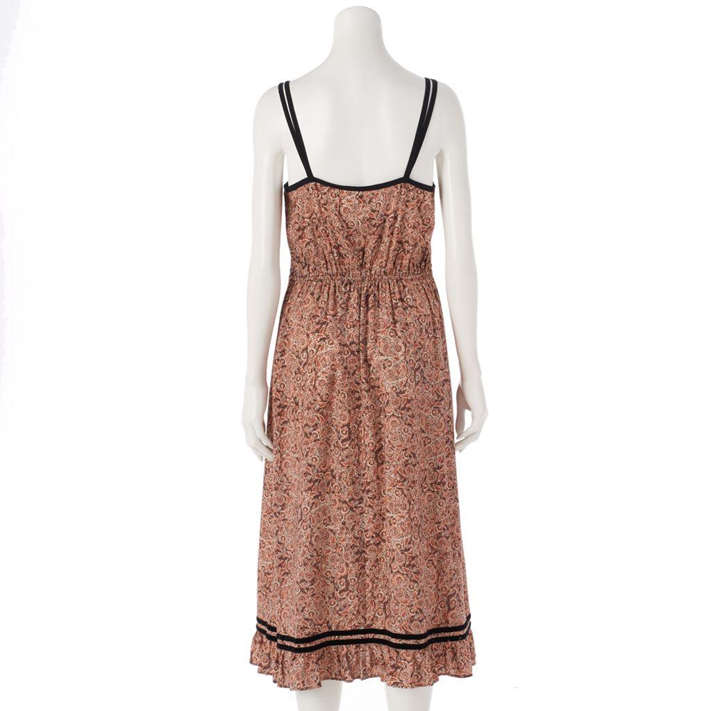 Women's LC Lauren Conrad Paisley Empire Maxi Dress