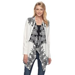 Women's Napa Valley Geometric Jacquard Cardigan