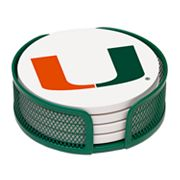 Thirstystone University of Miami Coaster Set