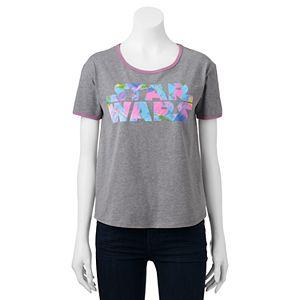 Juniors' Star Wars Tie-Dye Logo Graphic Tee