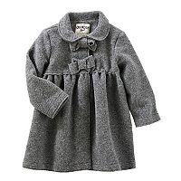 Baby Girl OshKosh B'gosh® Cozy Bow Coat
