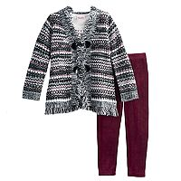 Girls 4-6X Little Lass 3-pc. Sweater Set