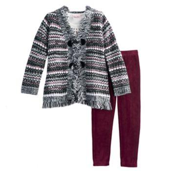 Girls 4-6X Little Lass 3-pc. Sweater Set