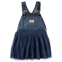 Baby Girl OshKosh B'gosh® Glitter Tulle Skirt Jumper