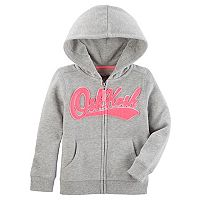 Baby Girl OshKosh B'gosh® Logo Zip Up Hoodie
