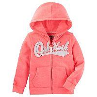 Baby Girl OshKosh B'gosh® Pink Heritage Logo Hoodie